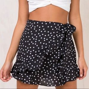 Princess Polly Black Mini Skirt, 2